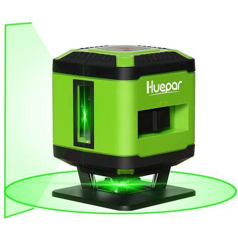 "main image of ""Livella laser per livellamento del pavimento - Huepar FL360G"""