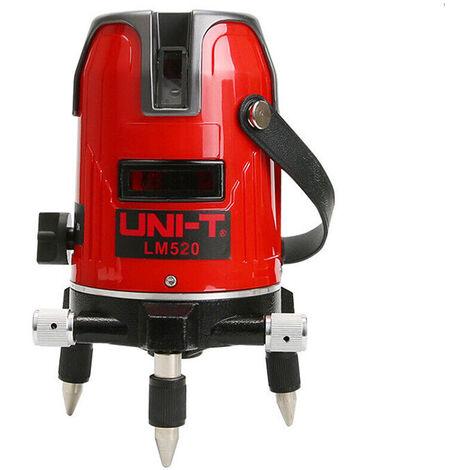 Livella misuratore laser 2 linee autolivellante a 360 gradi bolla digitale LM520