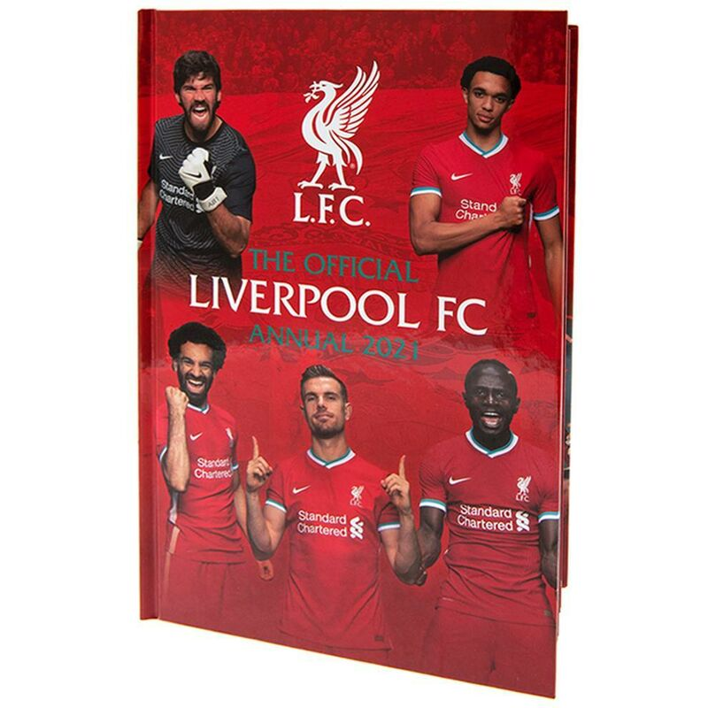 Image of 2021 Annual (One Size) (Red) - Liverpool Fc