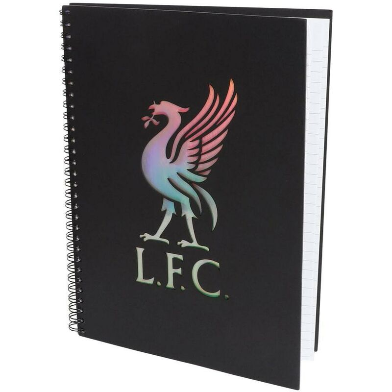 Image of A4 Notebook (A4) (Black) - Liverpool Fc