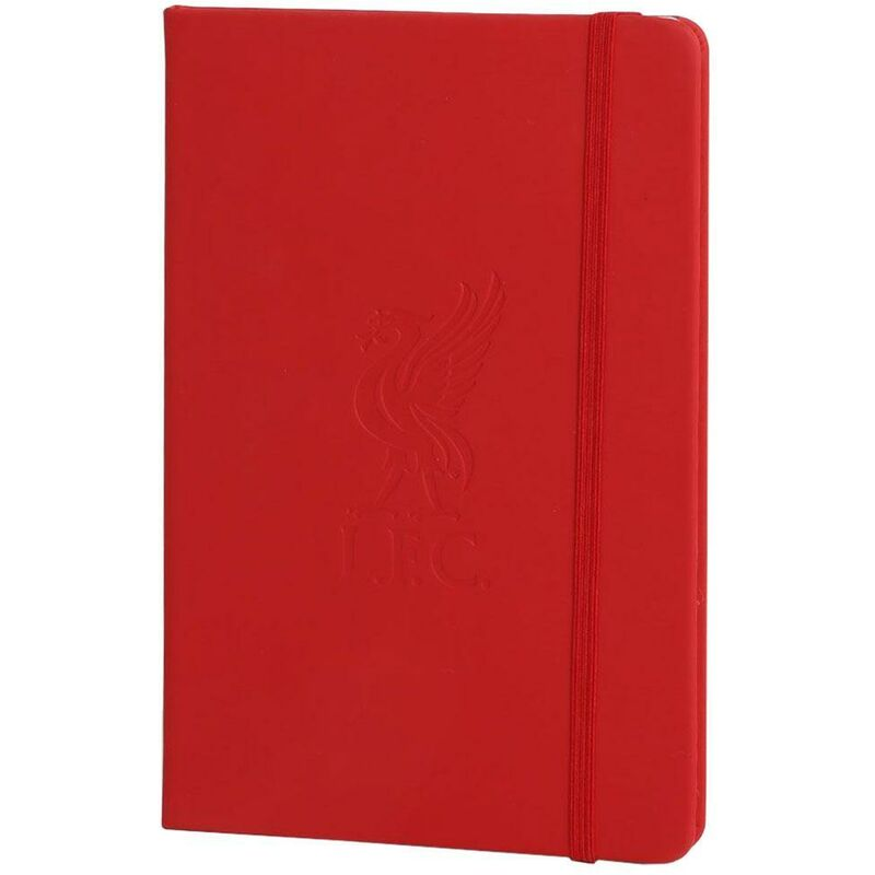 Image of A5 Notebook (A5) (Red) - Liverpool Fc