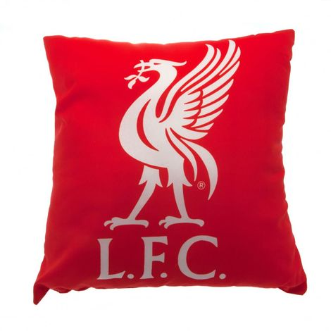 Liverpool FC Cushion (One Size) (Red)