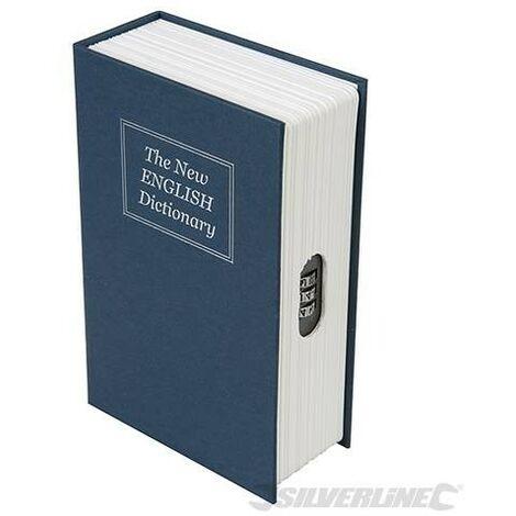 """main image of """"Livre coffre-fort avec combinaison à 3 chiffres, 180 x 115 x 55 mm, 180 X 115 X 55 Mm"""""""