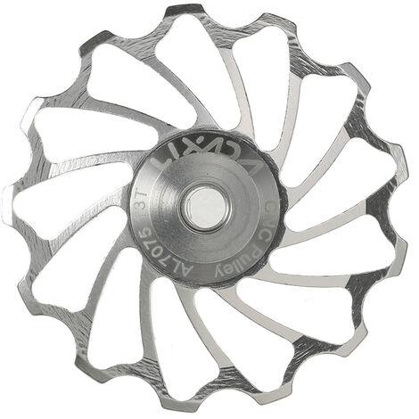 Lixada v¨¦lo 7075 roue de guidage de d¨¦railleur arri¨¨re en alliage d'aluminium, roue de guidage de d¨¦railleur arri¨¨re