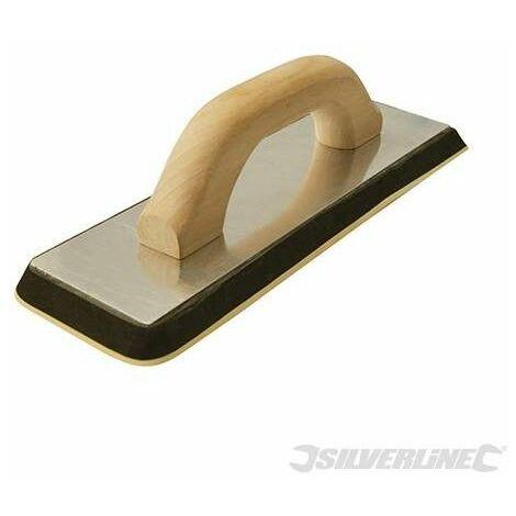 Llana de caucho para lechada, 305 x 100 mm