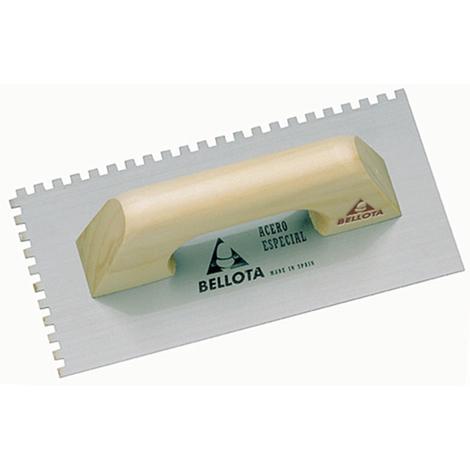 Llana rectangular dentada Bellota - varias tallas disponibles