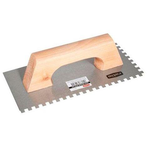 Llana rectangular dentada ratio - talla