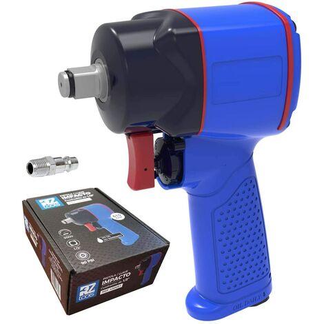 """main image of """"Llave Pistola Impacto Neumática 1/2"""" Pulgada MINI 120 MM Compresor Aire Comprimido - Potencia 610 Nm"""""""