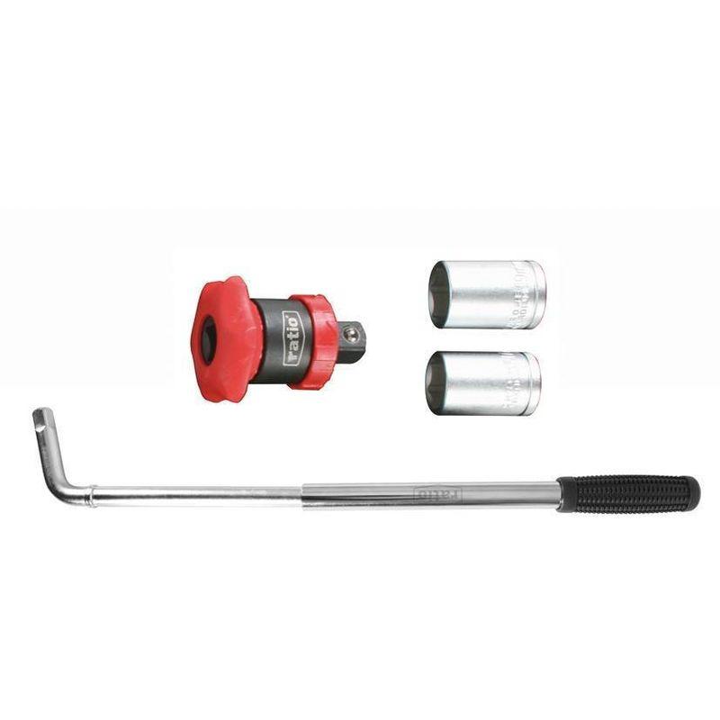 télescopique de clé de roue 17-19 mm - Ratio