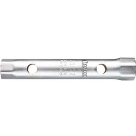 Llave tubo, lado e/planos : 17 x 19 mm, Largo 160 mm, para Ø de broca 12 mm