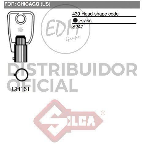 Llave Tubular Ch16T Chicago - NEOFERR