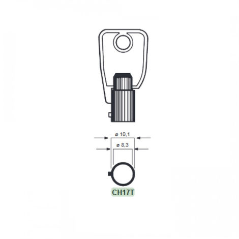 Llave Tubular Ch17T Chicago - NEOFERR