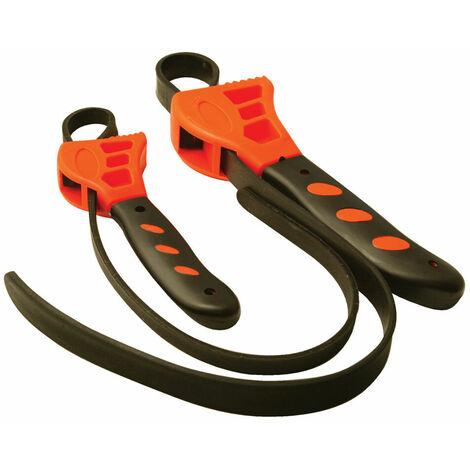 llaves de cinta para filtros de aceite 2 pzas