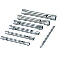 Llaves de tubo métricas, 6 pzas 8 - 19 mm - NEOFERR