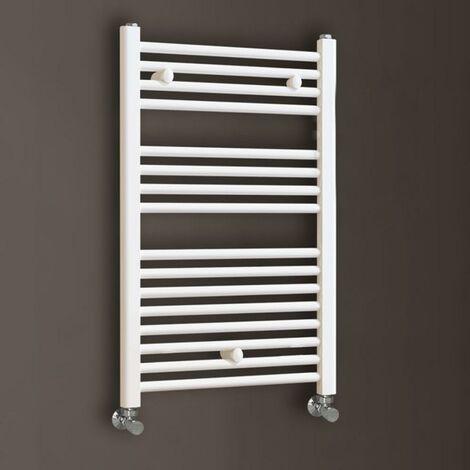 LLAVISAN L305474 Secatoallas toallero circuito calefacción 800 blanco mate