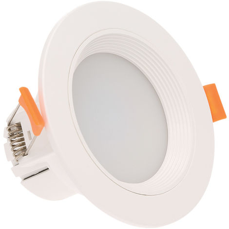 L¨¢mpara de induccion de 3 pulgadas y 7 W, LED Downlight con sensor de movimiento