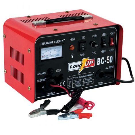 Load-Up by Airpress BC 50 Cargador de batería- 12/24V - 21A