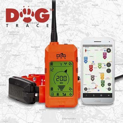 Localizador GPS Para Perros Dogtrace X30 Alcance 20 Kilometros, Aplicación para móvil y mando incluido, Nueva versión 2019