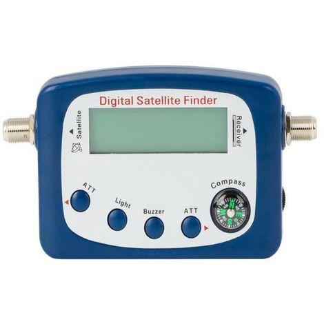 Localizador satélite digital con atenuación Dintel
