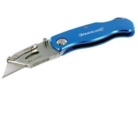 Lock Knife & 10 Blades - 90mm
