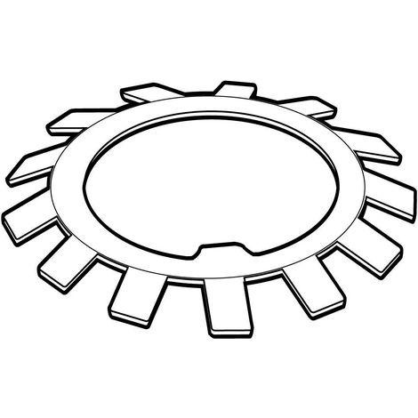 Lock washer MB DIN 5406 Steel Plain