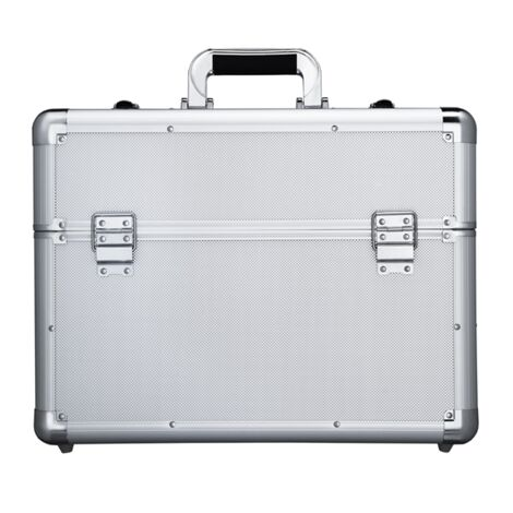 Lockable Aluminium Case Tool Box Storage Case for Electrician, Technician and Engineer Four Tray Travel Case