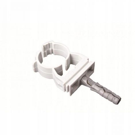Lockable pipe clip holder 14-16 mm 10 pcs fix