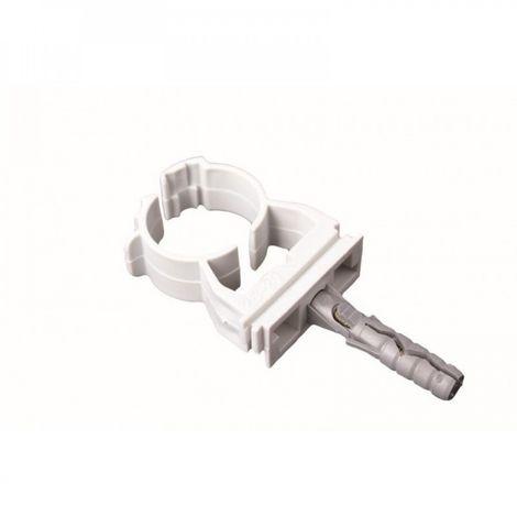 Lockable pipe clip holder 16.5-20 mm 10 pcs fix New