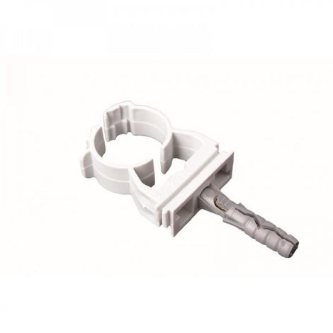 Lockable pipe clip holder 58.5-65 mm 5 pcs fix