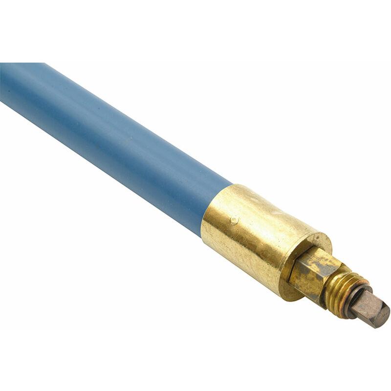 Image of 1606 Lockfast Blue Polypropylene Rod 1in x 3ft - Bailey