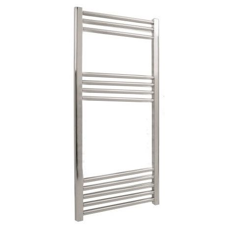 LoCo Lite Chrome Heated Ladder Towel Rail - 500 x 1200mm