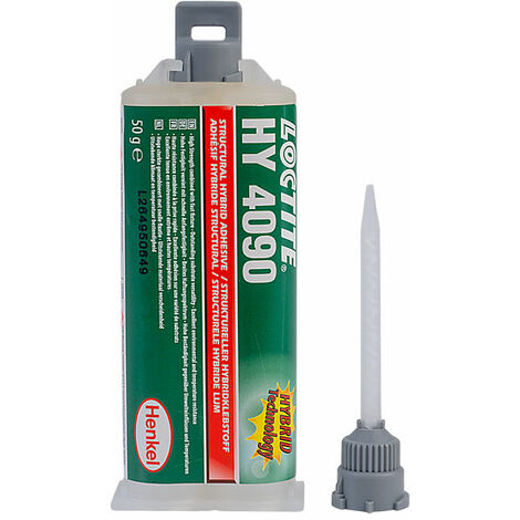 Loctite 1778011 HY 4090 Two Part Cyanoacrylate / Epoxy Hybrid Gel Adhesive 50g