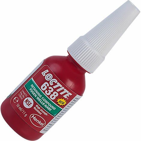 Loctite 1918981 638 High Strength Fast Cure Retaining Compound 10ml