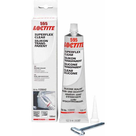 Loctite 2061823 SI 595 Silicone Clear Tube 100ml