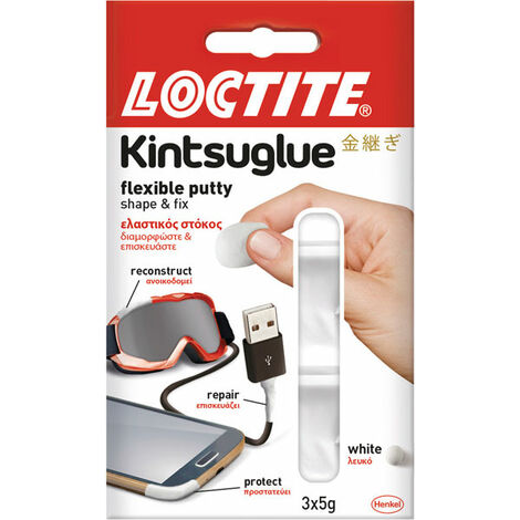 Loctite 2239177 Kintsuglue Putty White 3 x 5g