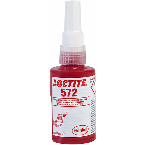 Loctite 229360 572 Low Strength Slow Cure Pipeseal 50ml