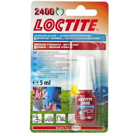 Loctite 2400 Specified Medium Strength Thread Lock & Sealant - Stud/Nutlock 5Ml