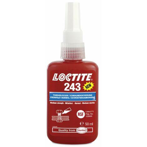 Loctite 243 de resistencia media de bloqueo de hilo 50 ml