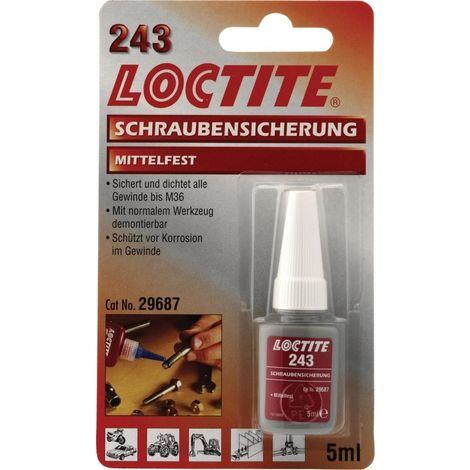 LOCTITE 243 fusible de tornillo de 5 ml