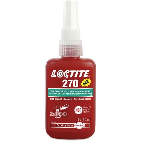 LOCTITE 270 50ml fijador de roscas alta resistencia