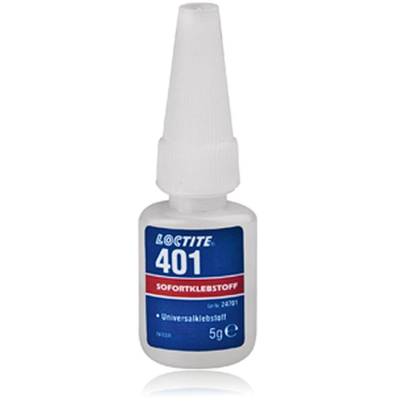401 adhésif instantané colle 3 Secondes 5ml - Loctite