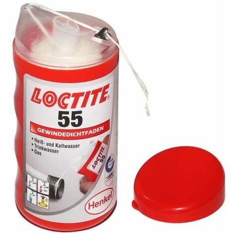 Loctite 55 Gewindedichtfaden Dichtfaden Dose à 160 m im Spender 2056936