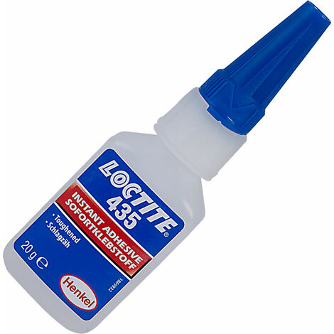 Loctite 871787 435 Clear Toughened Instant Adhesive 20g