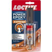 Loctite Colle epoxy Express invisible 11ml