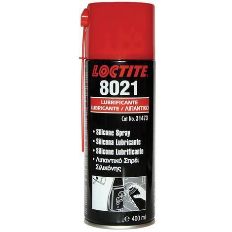 LOCTITE LB 8021 400ml lubricante aceite de silicona en spray