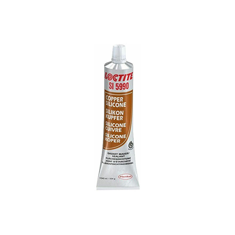 Image of 2064108 SI 5990 Silicone Copper High Temperature Resistant 100ml - Loctite