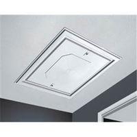 Loft Access Door Hatch Push Up - 562mm x 562mm White Textured Finish