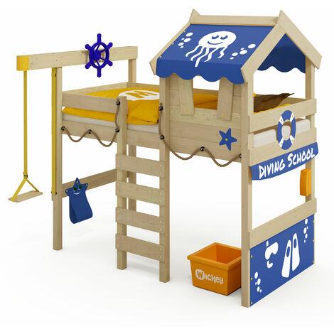 Loft bed Wickey CrAzY Jelly