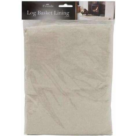 Log Basket Cotton Lining, Large