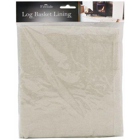 Log Basket Cotton Lining, Medium